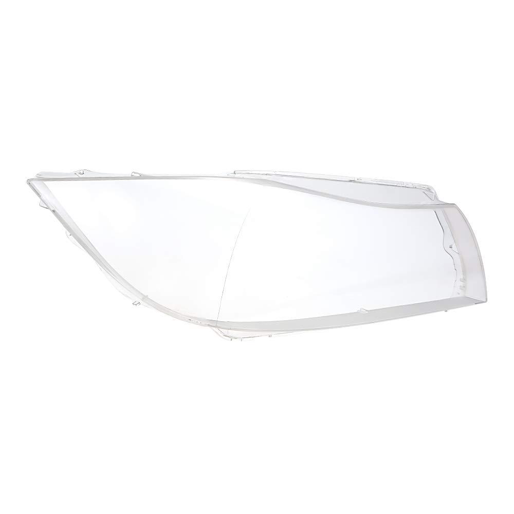 KKmoon Copriobiettivo Lente trasparente, guscio anteriore in plastica, per E90 / E91 2005-08, 1 paio