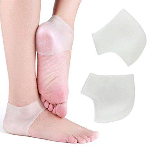 Tenworld Silicone hydratant Gel talon chaussettes protecteur comme fissuré pied soins de la peau