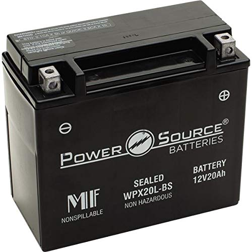 PowerSource 01-352 WPX20L-BS Sealed Battery ()