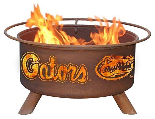 (University of Florida Gators Portable Steel Fire Pit Grill)