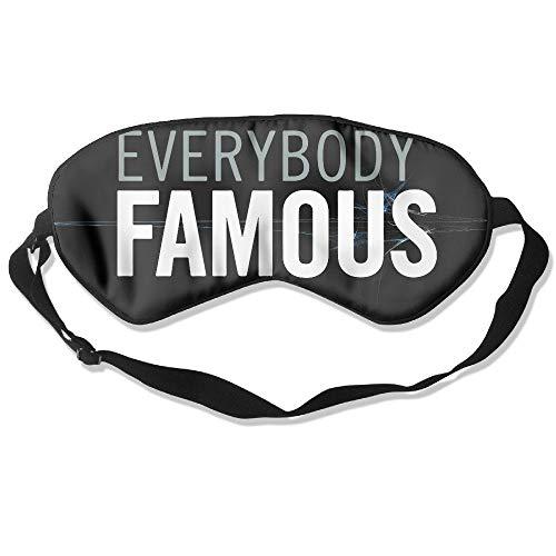 CCGGJPYI Everybody Famous Sleep Mask for Sleeping Contoured Shape Ultra Lightweight Comfortable Eye Mask
