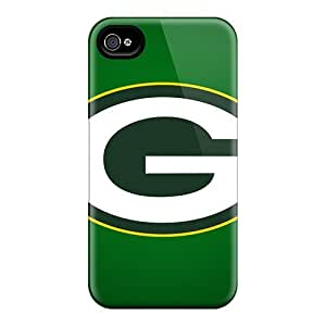 Hot Style DbI13419ulQw Protective Cases Covers For Iphone4/4s(green Bay Packers)