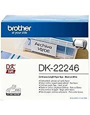 Brother DK22246 - Etiquetas adecuado para PTQL1100, 30.48 m x 103 mm, color blanco