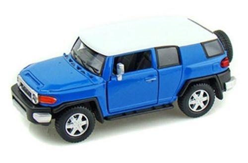 Kinsmart New 1:36 Display - Blue Color Toyota FJ