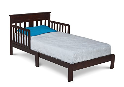 Delta Children Scottsdale Toddler Bed, Black Cherry