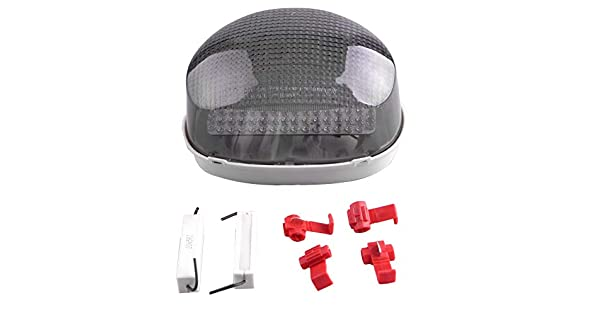 Tail Light Integrated LED Turn Signals For Triumph Daytona 595//995 Speed Triple