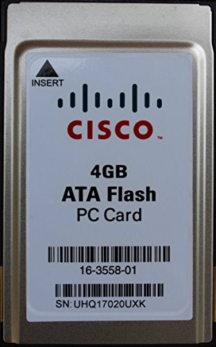 4GB ATA Flash PC Card;Cisco Original; PCMCIA Card 68pin; External PCMCIA Flash Memory Card for old Laptops, Server Operating System Upgrade medium for any Servers with PCMCIA Slots; mPower Direct TM