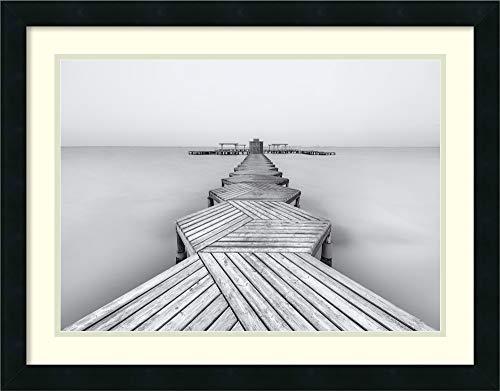 Framed Wall Art Print | Home Wall Decor Art Prints | The Pier by Xavier Garci | Modern Decor