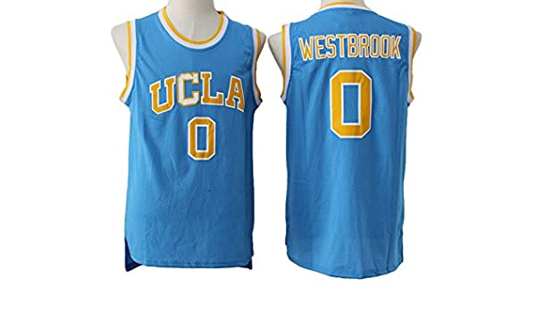 uk availability 1ae53 41511 UCLA Bruins Russell Westbrook #0 Mens Blue Jersey M ...