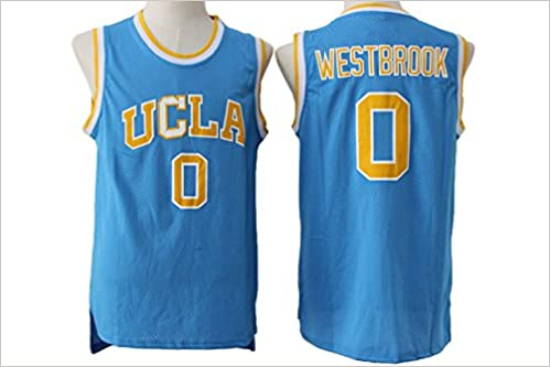 uk availability 63ae1 79daf UCLA Bruins Russell Westbrook #0 Mens Blue Jersey M ...