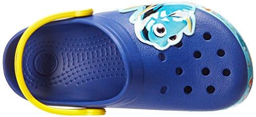 Crocs Kids' Finding Dory Light-Up Clog, Cerulean Blue/Lemon, 11 M US Little Kid by Crocs (Image #8)