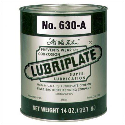 Lubriplate L0067-092 630 Series Off-White ISO-9001 Registered Quality System, ISO-21469 Compliant 135 cSt Multi-Purpose Grease (Pack of 12)