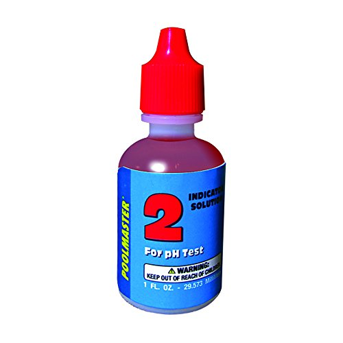 Poolmaster 23262 Phenol Red Indicator Solution for pH Test, No.2, 1-Ounce