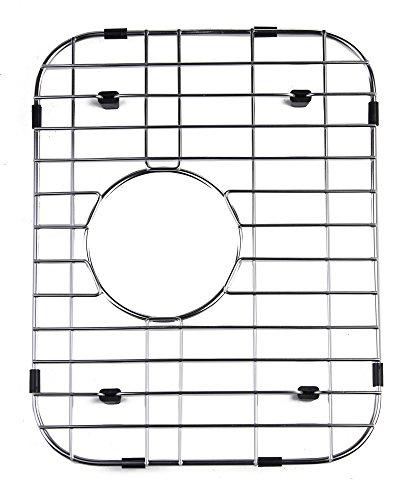 ALFI brand GR4019 Small Solid Kitchen Sink Grid, Stainless Steel (Rack Steel Pot Offset)