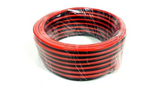 (Audiopipe 12 GA Gauge Red Black Stranded 2 Conductor Speaker Wire For Car, Home Audio, 100 feet)