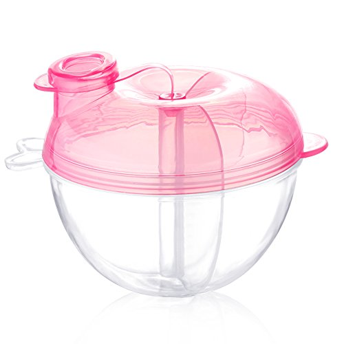 Accmor Baby Milk Powder Formual Dispenser, Non-Spill Formual Dispenser & Snack Storage Container