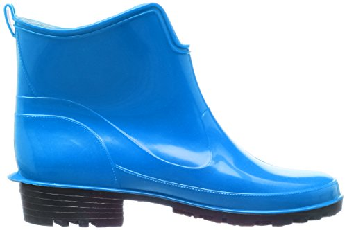 Lemigo Womens Ankle Rubber Wellington Boots Elke 930 Blue Skema