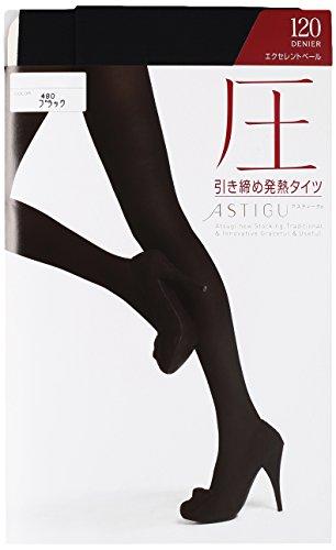 [아츠기(Atsugi)] 타이츠 ASTIGU (아스티구) [압력] 강화 발열 스타킹 120 데니아  FP1112-3 3 켤레 세트