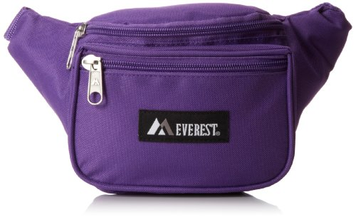 Everest Signature Waist Pack - Standard, Dark Purple, One Size