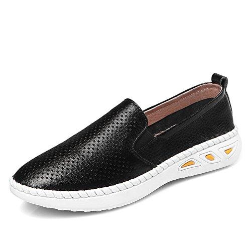Primavera Le Fu, Zapatos De Suela Gruesa,Zapatos De Cuero Blanco De Jurchen,Zapatos Del Ocio Coreano Del,Zapatos Finos De Talón Plano,Los Zapatos De Las Mujeres A