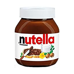 Nutella Hazelnut Spread 600g Glass Imported From Europe (2-pack)