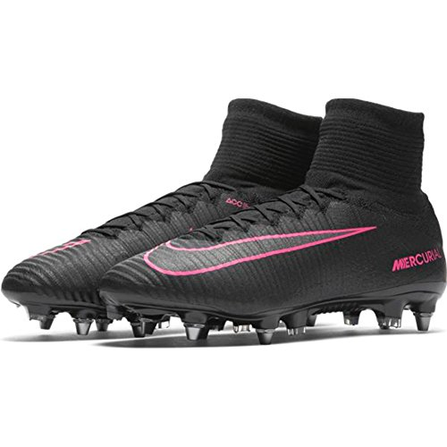 Nike Mercurial Superfly Sg - Pro Size 8.5 Negro Rosa