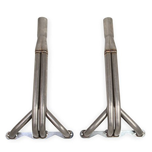 right Headers 1.625 in. Primary Tubing 3 in. Collector 409 Stainless Steel Natural Finish Upright Headers (Stainless Finish Header)