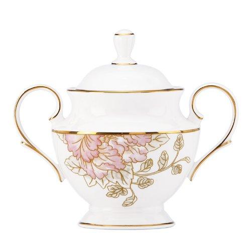 Lenox Marchesa Painted Camellia Sugar Bowl