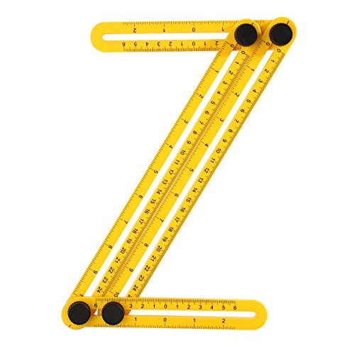 Skillink ATT-2 Angle-Izer Template Tool Angle Ruler, Measurement Tool, Multi-Angle Measuring Ruler Perfect for Builders/Handymen/Craftsmen/Engineers/Weekend Warriors and DIY-ERS