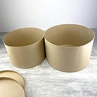 efco Lote de 2 cajas para sombreros con tapa: Amazon.es: Hogar