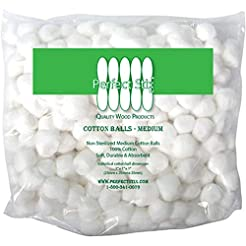 Perfect Stix Cotton Balls M-500ct Medium...