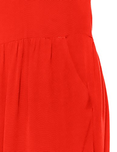 Kleid Rot BERENICE Flor Red Red Damen Twn15z