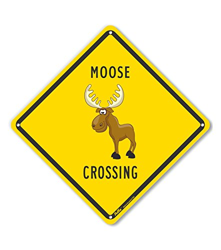 - PetKa Signs and Graphics PKAC-0272-NP_10x10 Moose Crossing 10
