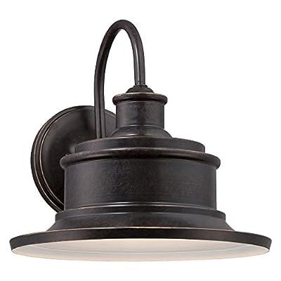 Quoizel SFD8409GVFL, Seaford Outdoor Wall Lighting Fluorescent, Galvanized