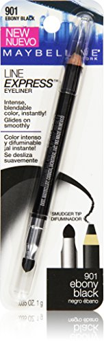 Maybelline New York Line Express Eyeliner, Ebony Black 901, 0.035 Ounce