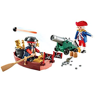 PLAYMOBIL Pirate Raider Carry Case: Toys & Games