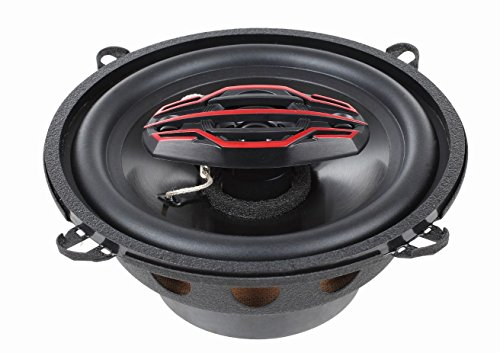 Dual Electronics DLS524 4-Way 5 ¼ inch Car Speakers with 120 Watt Power & 30mm Mylar Balanced Dome Midrange by Dual Electronics (Image #3)