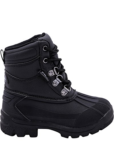 Fila Kids' Weathertech Extreme Western Boot, Black/Black/Black, 11 M US Little ()