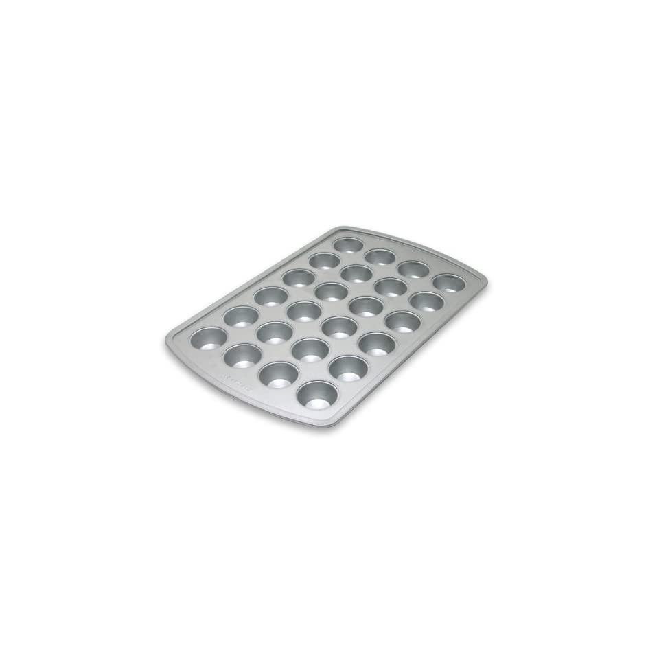 G&S Designs Aluminum Clad Commercial Grade 24 Cup Mini Muffin Pan