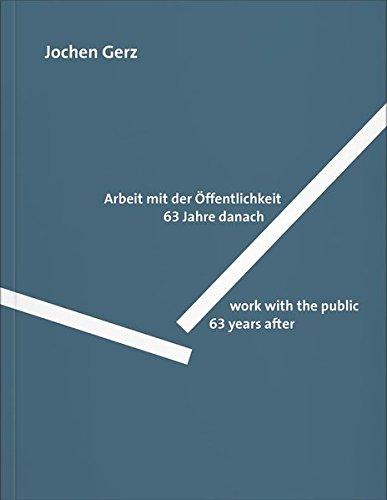 Read Online Jochen Gerz: Work with the Public pdf epub