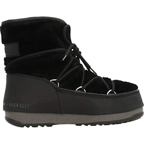24008500 001 Fur Nero Monaco Moon Scarpe Donna Boot Low x0q0BRT8