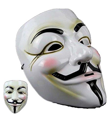 Punk Style Halloween V Vendetta Mask Movie Theme Mask Horror Tree Geek Ghost Dance Devil Mask