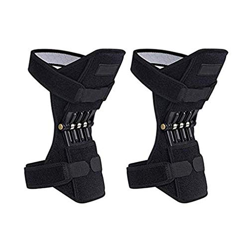 LARRY-X Joint Support Knee Pads Lift Joint Support Knee Pads Power Lift Spring Force Knee Pad for Outdoor Sports