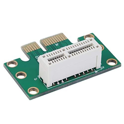 Peanutaoc Hohe Qualit/ät PCI-E PCI Express 1X Adapter Riser-Karte 90 Grad f/ür 1HE Server Chassis Digitale Hot Promotion