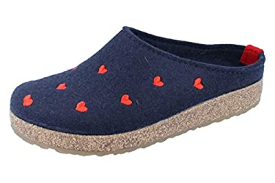 HAFLINGER Women's Grizzly Cuoricino Clog