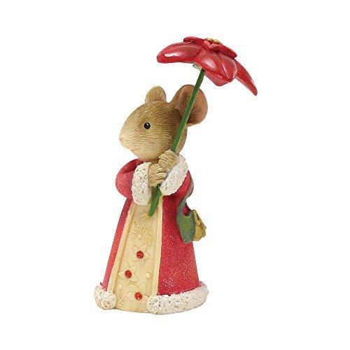 Enesco Heart of Christmas Pretty Poinsettia. Figurine, 2.36