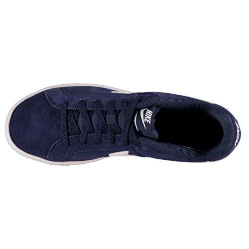cf07cfa501a994 Nike Court Royale Wildleder Turnschuhe Herren Marine Weiß Casual Sneakers  Schuhe Schuhe  Amazon.de  Sport   Freizeit