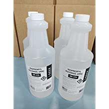 gotparts747 Isopropyl Alcohol 99.5% - 4 Liters (More Than ONE Gallon) 4 x 1000ml Bottles of High Purity IPA