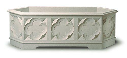 Stewart Gothic Pflanzkasten 90 cm White Stone