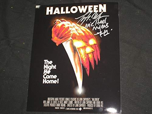 (TONY MORAN Signed Halloween 8x10 Photo Autograph Michael Myers)
